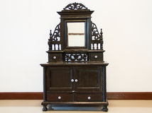 Black Antique Dressing Table Stock Photography