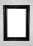 Black antique frame Stock Photo