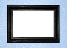 Black antique frame Royalty Free Stock Photos