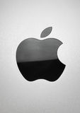 The black Apple. A black Apple Inc. logo found on the iPad. It is the first time Apple featured their logo physically in black on their products