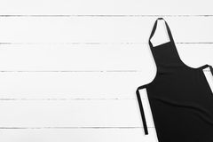 Black apron Stock Image