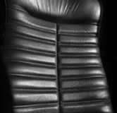 Black armchair Royalty Free Stock Photos
