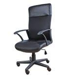 Black armchair Stock Photos