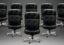 Black armchair Royalty Free Stock Photo