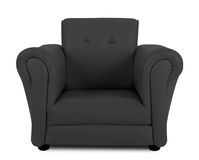 Black armchair Stock Photo