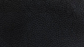 Black artificial furniture leather Royalty Free Stock Images