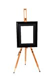 Black artwork frame Stock Image