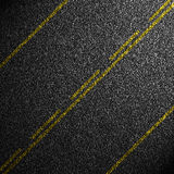 Black asphalt background Royalty Free Stock Images