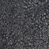 Black asphalt fragment Stock Photography