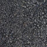 Black asphalt fragment Stock Photography
