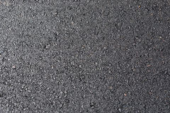 Black asphalt road tarmac surface texture Royalty Free Stock Images