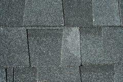 Black asphalt roofing shingles background Royalty Free Stock Image