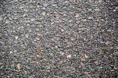 Black asphalt texture Stock Images