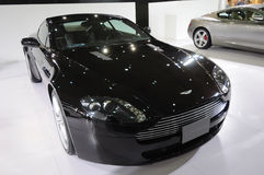 Black Aston Martin v8 vantage Stock Images