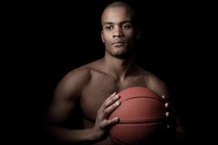 Black athlete Royalty Free Stock Photography
