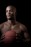 Black athlete Royalty Free Stock Photography