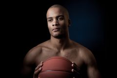 Black athlete Royalty Free Stock Photo