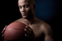 Black athlete Stock Photography
