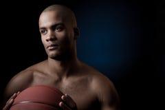Black athlete Stock Images