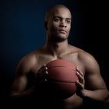 Black athlete Royalty Free Stock Photos