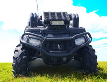Black ATV Stock Image