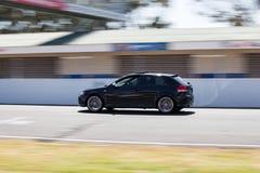 Black Audi S3 car royalty free stock image