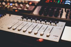 Black Audio Machine Device Royalty Free Stock Photos