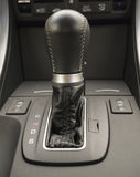 Black automatic car transmission Royalty Free Stock Images