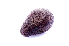 Black Avocado fruit Royalty Free Stock Photography