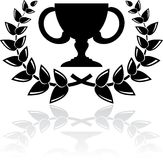 Black award Stock Photography