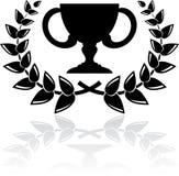 Black award Stock Photography