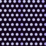 Black Background with blue watercolor Polka Dot pattern. Polka dot fabric. Retro pattern. Casual stylish black light royalty free stock photos