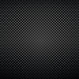 Black background of carbon fibre texture. Vector illustration Royalty Free Stock Images