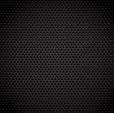 Black background of carbon fibre texture. Vector illustration stock illustration