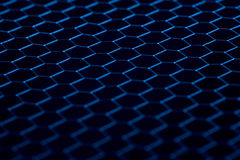 Black background of circle pattern texture Royalty Free Stock Images