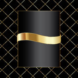 Black background with crossed lines Royalty Free Stock Image