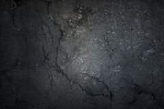 Black background, dark grunge abstract, wall, Cement black background texture, Black cracked texture used design for background.  stock image