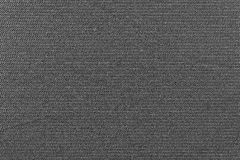 Black background of fabric grained texture Royalty Free Stock Photos