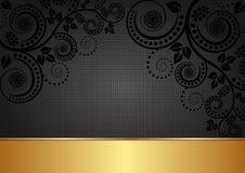 Black background Stock Image