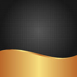 Black background. Black and golden background with copy space Royalty Free Stock Image