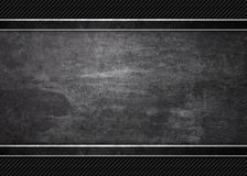 Black background of grunge metal texture texture Stock Images