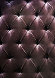 Black background leather Royalty Free Stock Photography