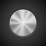 Black Background with Perforated Pattern Stock Images