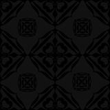Black background seamless textile. Subtle black on gray textured wallpaper pattern suitable for fabric, textile, material, tiles, wrapping paper and more Stock Photography