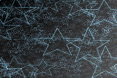 Black background with stars Royalty Free Stock Images