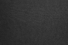 Black background of synthetic fabric Stock Photo