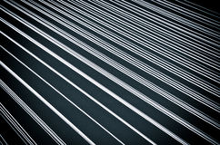 Black background with white lines Stock Photo