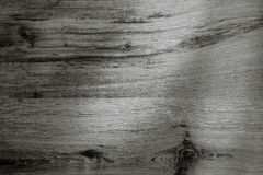Black background wood texture Stock Photography