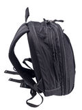 Black backpack Stock Photography