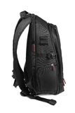 Black backpack Stock Image